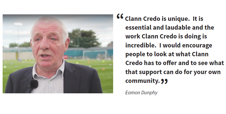 Clann Credo welcomes announcement of the 2017 Sports Capital Grants