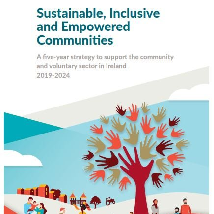 The new five-year strategy to support the community and voluntary sector launched today!